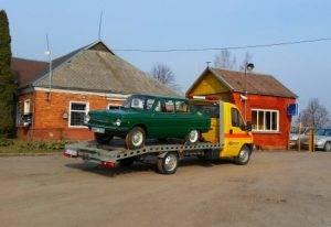 Automobilių iki 3,5 tonos transportavimas