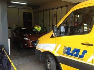 Techninės pagalbos kelyje mokymai-varžybos Road Patrol